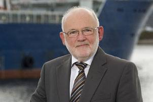 Brian Nixon chief executive Decom North Sea at Aberdeen Harbour. Photo courtesy ThinkPR(Scotland) Ltd