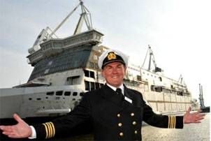 Captain David Miller, Senior master of the Spirit of Britain, will later this year welcome passengers onboard P&O's latest ferry. Photo courtesy Consilium