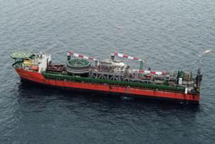 The Chevron Captain FPSO (Photo courtesy Aberdeen)