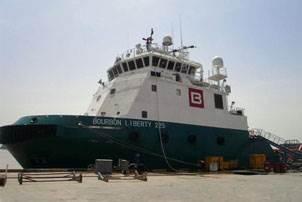 Bourbon Liberty 200 series AHTS vessel (Photo courtesy JLA)