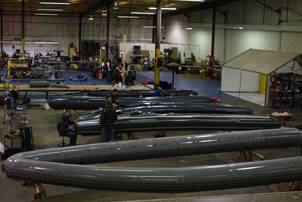 Wing Inflatables Factory in Arcata, Calif. (Photo courtesy Wing Inflatables)