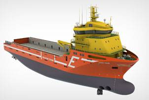The new Platform Supply Vessels (PSVs) for Eidesvik Offshore will include an integrated Wärtsilä gas power solution featuring the recently launched Wärtsilä 20DF engine. Photo courtesy Wärtsilä Corporation