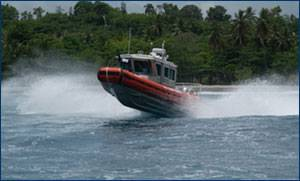 Legacy 25' Defender Class RB-S. USCG photo by PA2 Andy Kendrick