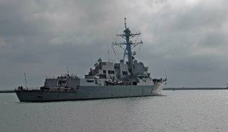 The guided-missile destroyer USS Sterett (DDG 104). Photo courtesy U.S. Navy
