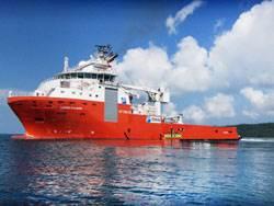 AHTS Lewek Fulmar reportedly has a bollard pull of 402.4 tons. (Photo Courtesy: Drydocks World)