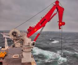 Safe and efficient MacGregor 250-tonne AHC subsea crane