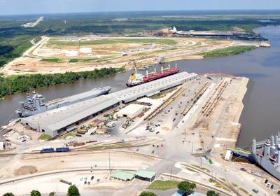 Photo courtesy of Port of Beaumont