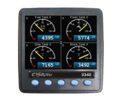 Offshore Systems latest Multi-function display unit, just one of a range of digital boat management products