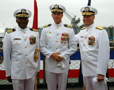 MSC Change of Command Ceremony