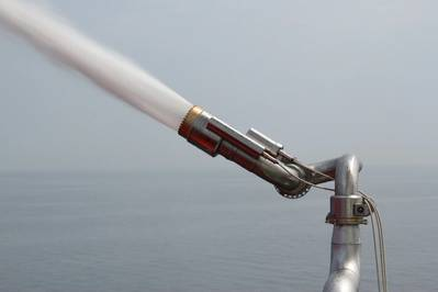 Anti-Pirate Water Cannon