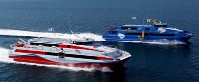AUSTAL 47 metre high speed catamaran ferries