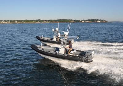 Ribcraft 6.8 in action.