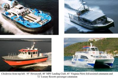 four boats: all with Sea-Fire fire Supression Systems