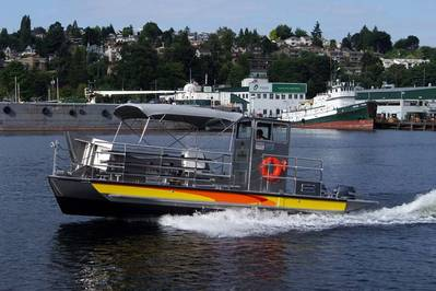 30' Rapid Response Oil Skimming Vessel