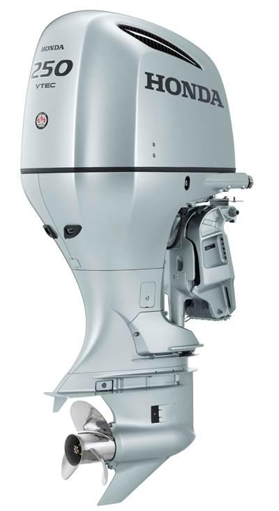 Honda Marine's BF250 horsepower (hp) four-stroke engine