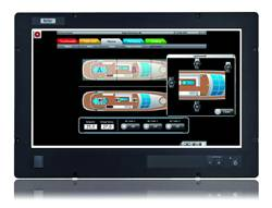 The new maritime monitor and industrial PC features a 23.6 inch widescreen format providing an extensive display area for well-structured machine and process visualization.