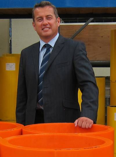 George Morrison, Area Sales Manager, Western Europe