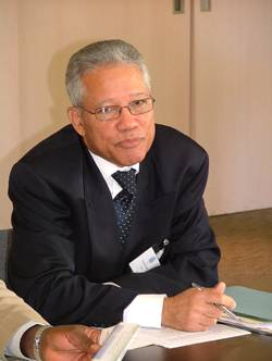 Rear Admiral Peter Brady, Director General of the Maritime Authority of Jamaica
