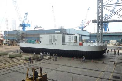 modular heavy lift hovercraft