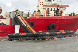 VIKING fully automatic liferaft and slide system