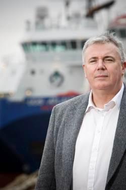 Kenny Macleod, chairman, Seahold GEOSHIPS 1.