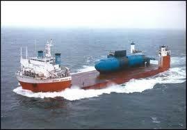 Dockwise bowless heavy-cargo ship Dockwise Vanguard