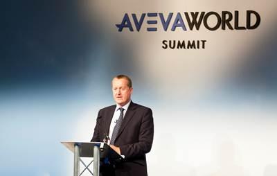 at the AVEVA World Summit, Copenhagen