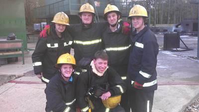 Back row: Scott Pitman, Joe Stafford, Martyn Berrington and Ronan Conway. Front: Troy Melling and Ralph Williams.