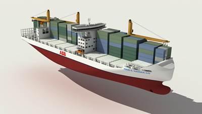 fuel efficient 2000 TEU Container Feeder Vessel