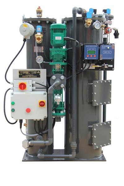 lightweight version of Victor Marine's CS Series range of separators