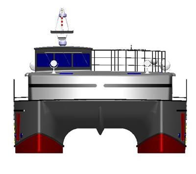 purpose-designed anti-piracy personal escort vessel (PEV).