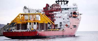 Skuld template onboard the Skandi Acergy vessel. (Photo: Aker Solutions)
