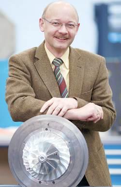 Oliver Riemenschneider, head of the global ABB Turbocharging Business Unit.