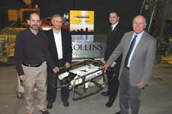 Thomas Collins, UW Staffe and donated ROV.