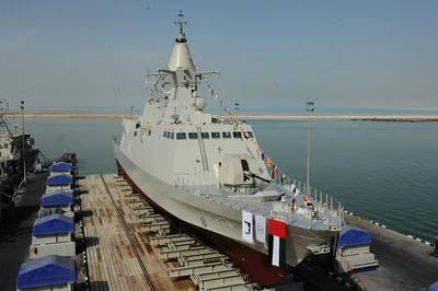'Mezyad' is the fourth vessel of Baynunah Corvette Class Program for UAE Navy.