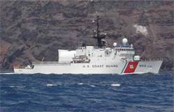 The USCG WMEC902 TAMPA - shown above, was the first ship to have the new Quantum hydraulic stabilizer upgrade system refitted.