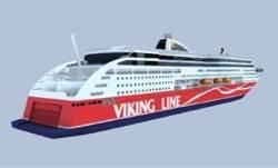 Cruise Ferry Viking Grace: Image Credit Viking Line