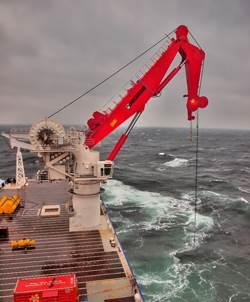 MacGregor 250 tonne AHC crane onboard Northocean 104