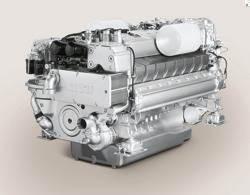 Marine Engine MTU 2000: Photo credit: MTU