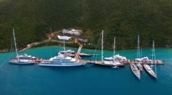Yacht Marine in BVI: Photo courtesy Yacht Club Smeralda BVI