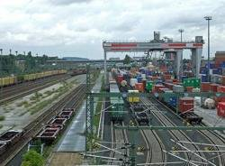 Container Terminal: Photo credit Wiki CCL 'Dontworry'