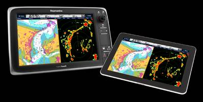 An Android Tablet group (Photo: Raymarine).