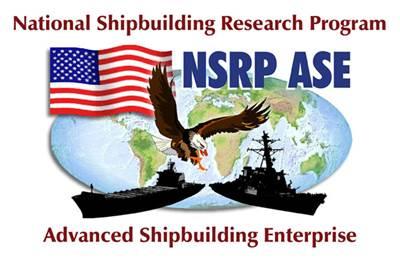 The National Shipbuilding Research Program logo.
