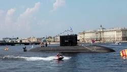 Submarine Project 1650: Photo credit Rianovosti