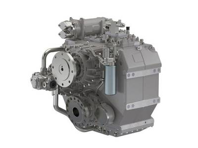 Marine introduces the ZF 5000 series transmission (Photo: ZF Marine).