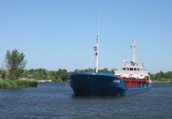 MV Carrier: Photo credit Reederei Erwin Strahlmann