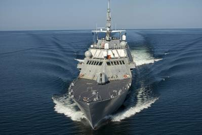 The U.S. Navy's Littoral Combat Ship (Photo: Rolls-Royce).