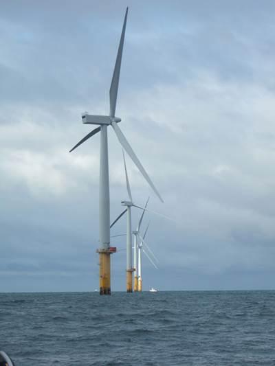 A wind farm (Photo: BMT).