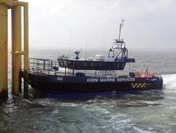 Windfarm Support Ship 'Iceni Pride': Photo courtesy of South Boats