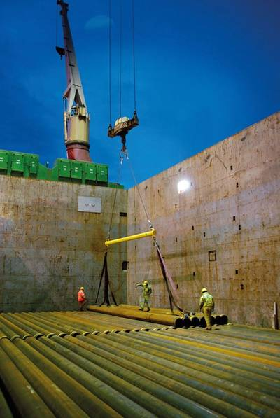 Tata Steel will provide 105 miles of line pipe (Photo: Tata Steel).